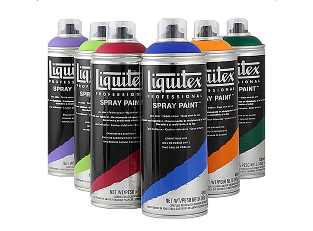 Spray paint liquitex for Colorificio monza
